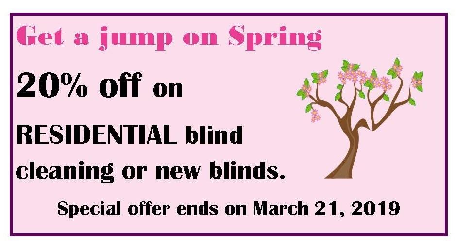 20% off Spring
