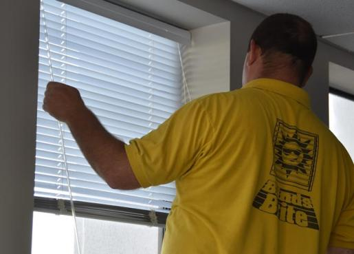 We repair blinds and shades